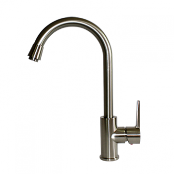 Kitchen Faucet / Brushed Nickel / iFaye Sanitary KF1022