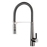 Kitchen Faucet / Solid / Brushed Nickel / with Cover Plate / iFaye Sanitary KF1030