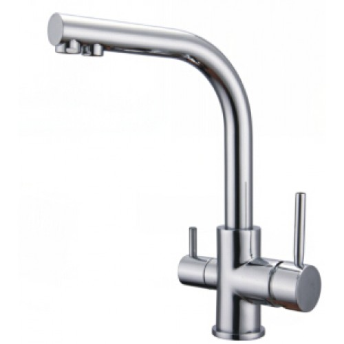 Kitchen Faucet / Chrome / 2 Function / iFaye Sanitary KF1038