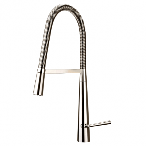 Kitchen Faucet / Solid / Brushed Nickel / iFaye Sanitary KF1040