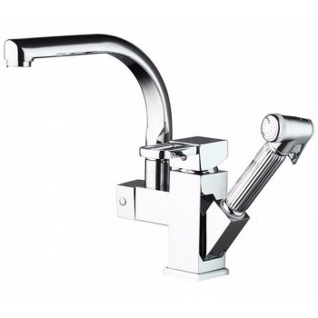 Kitchen Faucet / Chrome / Transitional / iFaye Sanitary KF1043