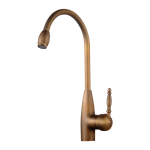 Kitchen Faucet / Antique Brass / iFaye Sanitary KF1006BR