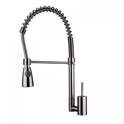 Kitchen Faucet / Brushed Nickel / iFaye Sanitary KF1023
