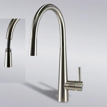 Kitchen Faucet / Brushed Nickel / iFaye Sanitary KF1024