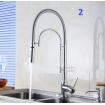 Robinet de cuisine / Luxe / 3 Désigns / iFaye Sanitaire KF1025