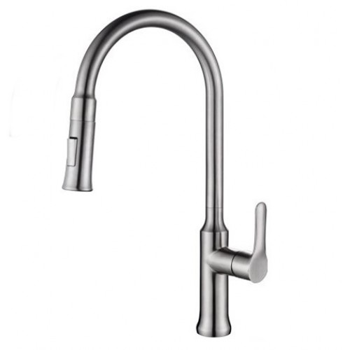 Kitchen Faucet / Chrome / iFaye Sanitary KF1034