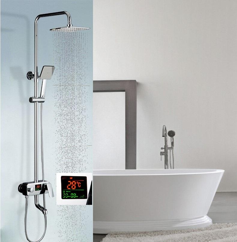 Led lights bathroom kitchen faucets smart devices - Bathroom faucets with led lights ...